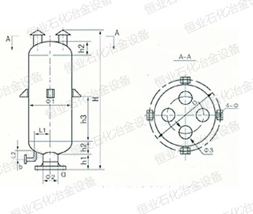 KHP型不锈钢扩散缓冲放空消声器