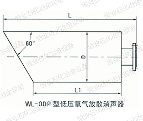 ODP型低压氧气放散消声器