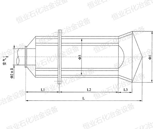 KAP型压缩空气排放消声器