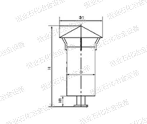 SP型蒸汽排放消声器